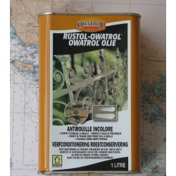 Rustol Owatrol 1 litre antirouille incolore